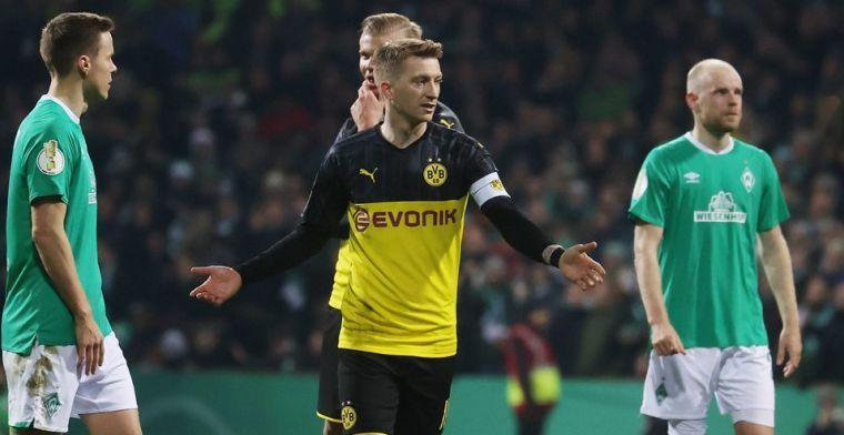 Dortmund met handen in het haar: 'lijdensweg' Reus voorlopig nog niet voorbij