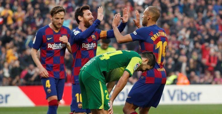 'Barcelona wil aankoop van achttien miljoen na minder dan halfjaar weer verkopen'