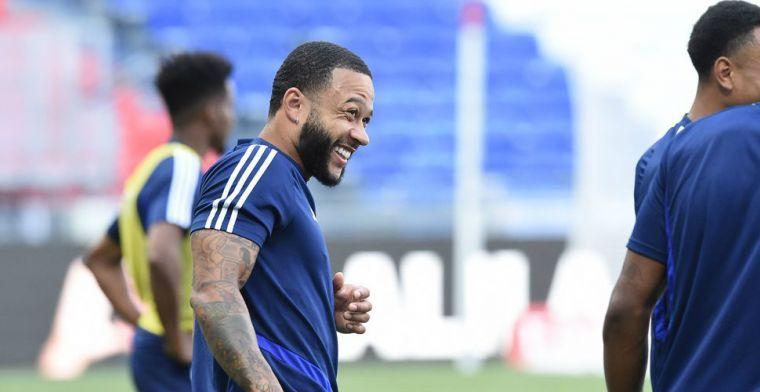 Lyon vestigt hoop op Memphis voor 'grote duels' met PSG en Juventus