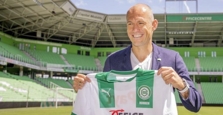 FC Groningen houdt Robben aan de kant: 'Het uiteindelijke doel is PSV-thuis'