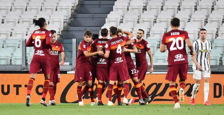 Kampioen Juventus thuis te kijk gezet, Inter wint laatste slag in Bergamo