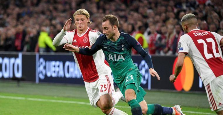 'Snap niet dat Dolberg het niet heeft gered, had hem graag jaren bij Ajax gezien'