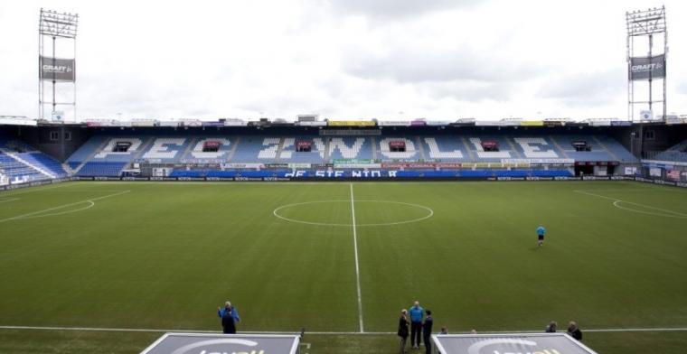 PEC Zwolle heeft nieuws: positieve coronatest voor lid van de medische staf