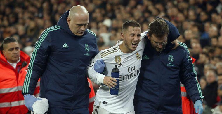 Real Madrid neemt geen risico en gaf Hazard strikt schema mee voor weekje vrij