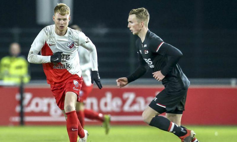 Afbeelding: De 'voorgangers' van Jong Feyenoord: Utrecht voorlopig achter bij Twente en AZ