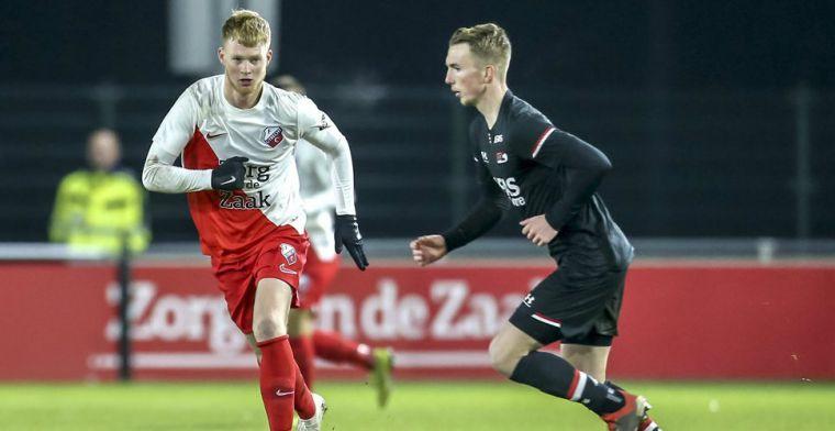 De 'voorgangers' van Jong Feyenoord: Utrecht voorlopig achter bij Twente en AZ