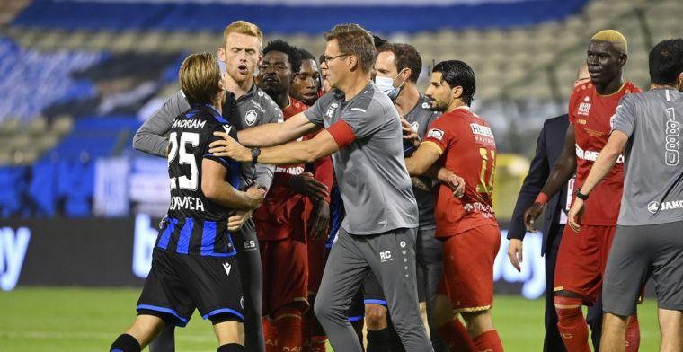 Vormer geviseerd na gewonnen bekerfinale Antwerp: 'Hij is boos'