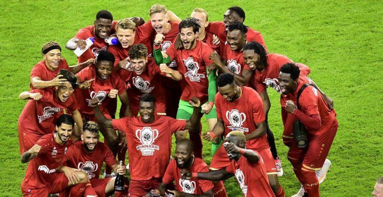 Antwerp-spelers vieren feest, Van Ranst uit kritiek: 'Er gelden andere regels'