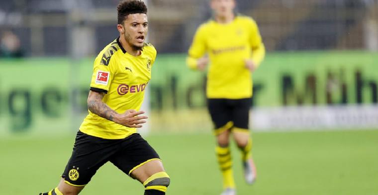 'Man United en Dortmund naderen akkoord over recordtransfer Sancho'