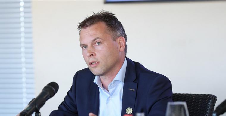 'We willen in 2022/2023 een serieuze gooi doen naar Eredivisie-terugkeer'