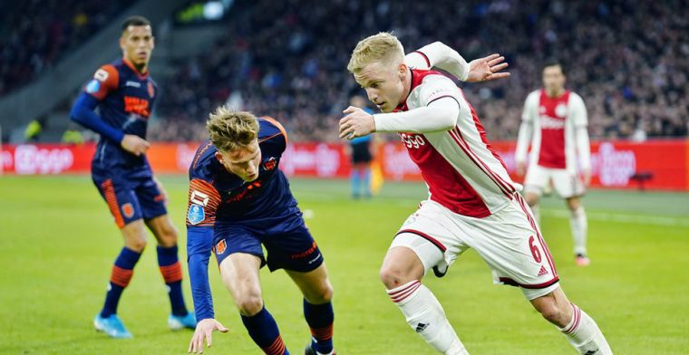 Ajax krijgt geen toestemming en moet RKC in een lege Arena ontvangen