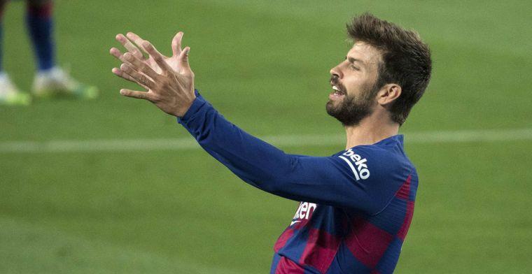 Kritiek op Piqué: 'Is zoals ik: gemiddeld. Goede verdediger, niet veel meer'