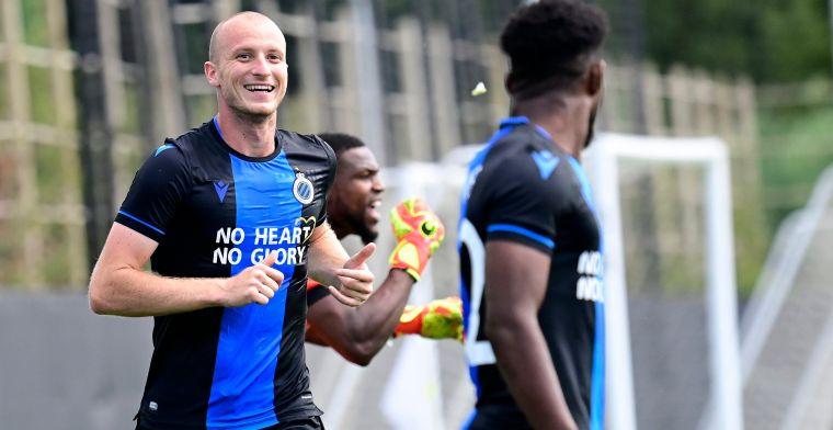 Club Brugge en Krmencik tanken vertrouwen met simpele zege tegen Luxemburgers