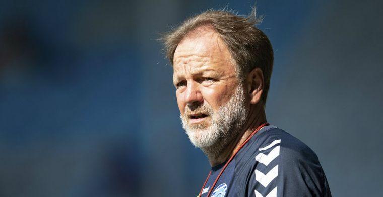 De Graafschap-coach Snoei niet blij met afgelasting: 'Hoop dat KNVB gehoor geeft'