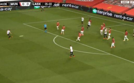 LASK komt op voorsprong tegen Man United na heerlijke treffer van Wiesinger
