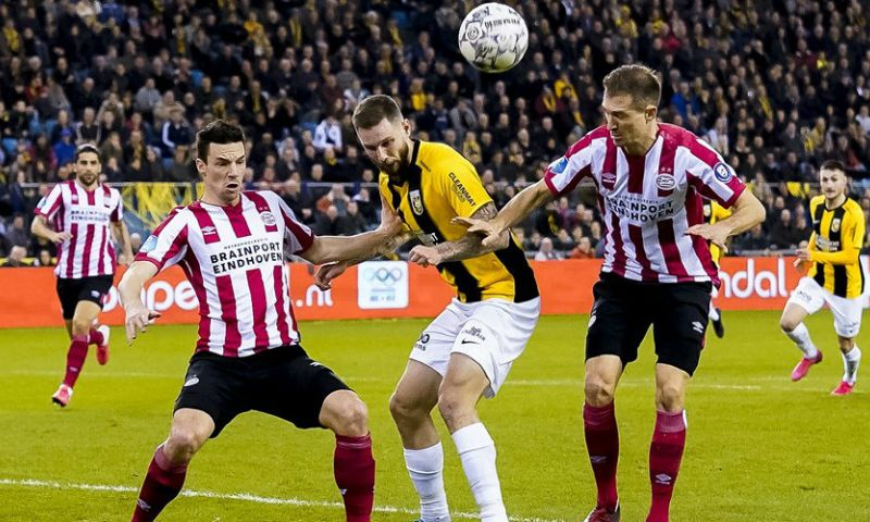 Afbeelding: ED: vergunning voor PSV-Vitesse, geen 10.000, maar 6.500 toeschouwers