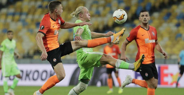 Einde verhaal voor Weghorst: Shakhtar in blessuretijd van 0-0 naar 3-0