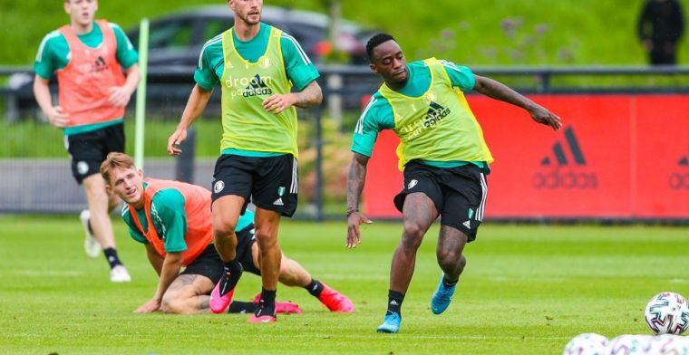 Geen vertrekwens bij Feyenoord: 'Ik speel hier en dat vind ik een voorrecht'