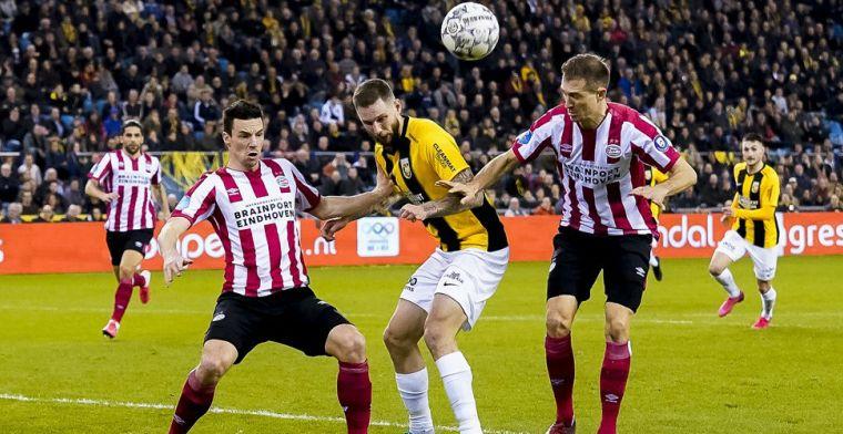 ED: vergunning voor PSV-Vitesse, geen 10.000, maar 6.500 toeschouwers
