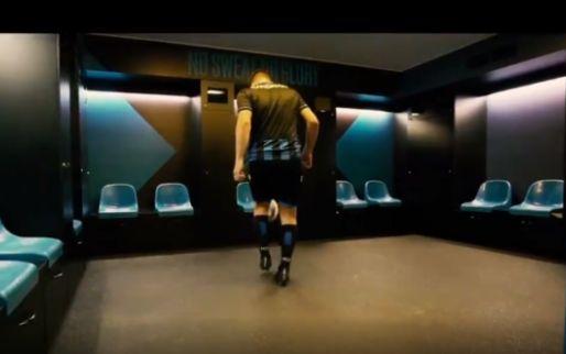 Knap gedaan: neem een kijkje in de vernieuwde kleedkamer van Club Brugge
