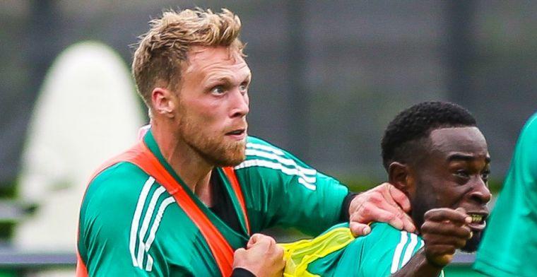 Haps ziet twee Feyenoorders als voorbeeld: 'Echt, de stukken vliegen er vanaf'