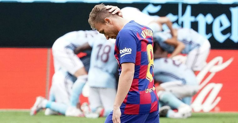 'Middenvelder reist af naar Barcelona... om contract te verscheuren'