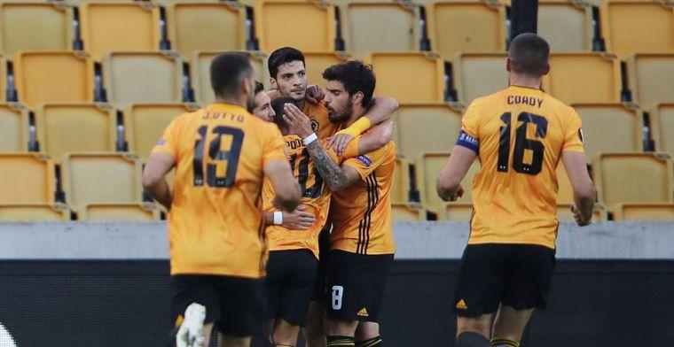 Wolves wint met het nodige geluk, Frankfurt kansloos uitgeschakeld