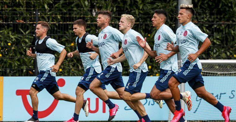 'Transfer' bij Ajax: internationaal gezicht voor mediakanalen Amsterdamse club