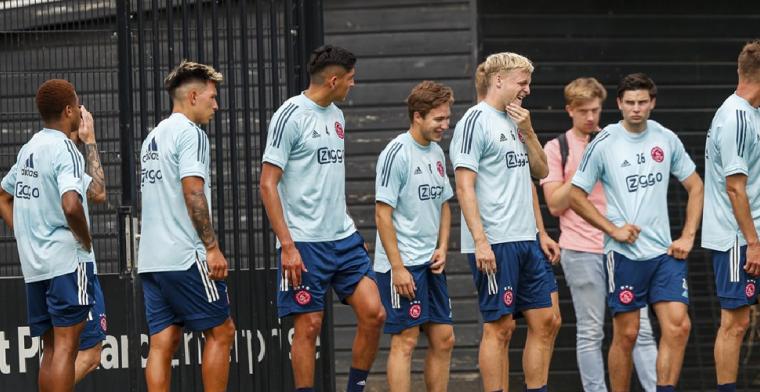 KNVB reageert op Ajax-nieuws: 'Precies de reden waarom wij willen testen'