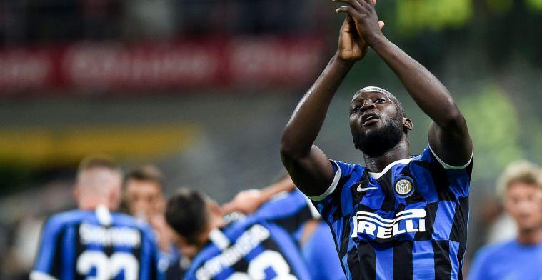 """Lukaku weer belangrijk voor Inter met doelpunt: """"Focussen op die ene bal"""