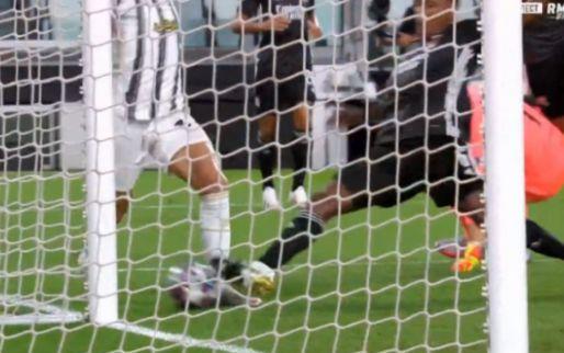 Lyon-verdediger Marcelo voorkomt fraaie sologoal Bernardeschi met tackle