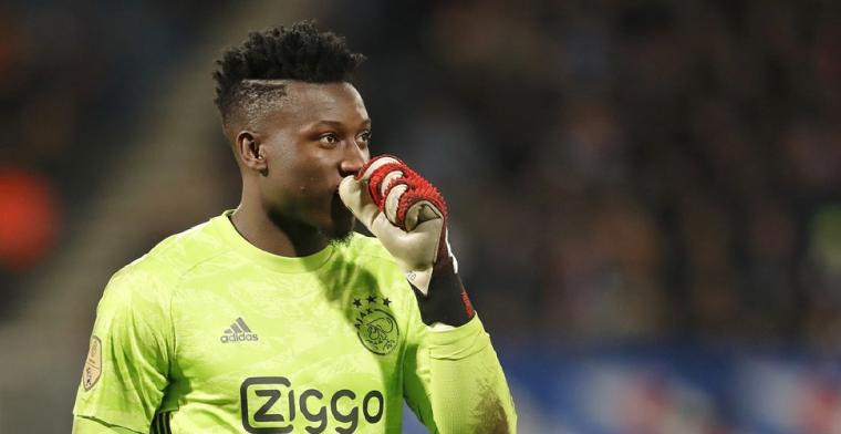 Twijfels over Onana-transfer: 'Ik zou er nu niet eentje op kunnen noemen'