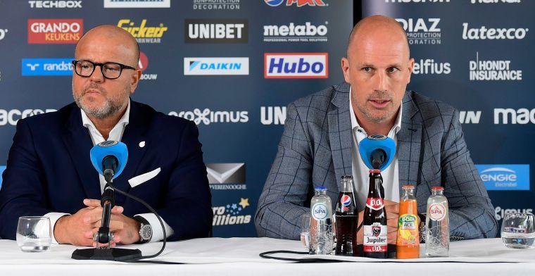 LIVE: Clement geeft persconferentie in aanloop naar openingsduel met Charleroi
