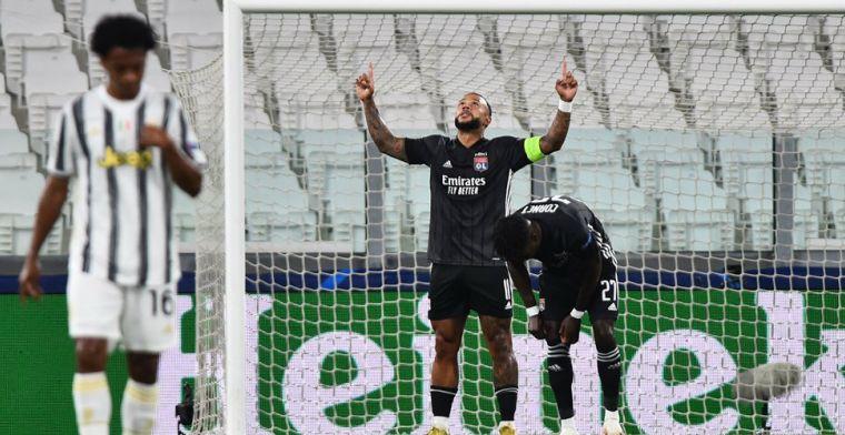 Dubbelslag Ronaldo volstaat niet: Lyon met Denayer stoot door