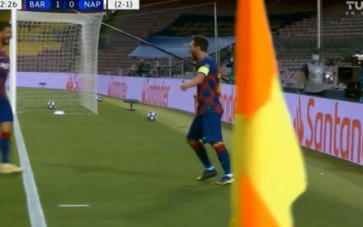 Messi doet alles alleen, rommelt à la Suárez, valt, staat op en scoort toch nog