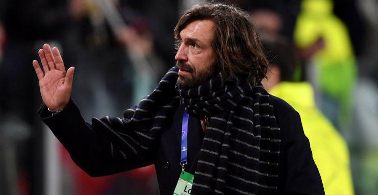 Juventus verrast alles en iedereen en stelt clubicoon Pirlo (41) aan