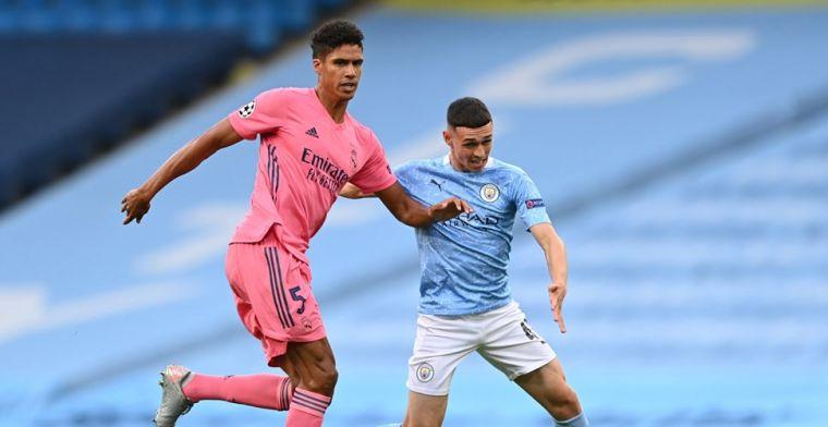 Varane kop van Jut na blunders tegen Man City, Real-verdediger krijgt 'nul'