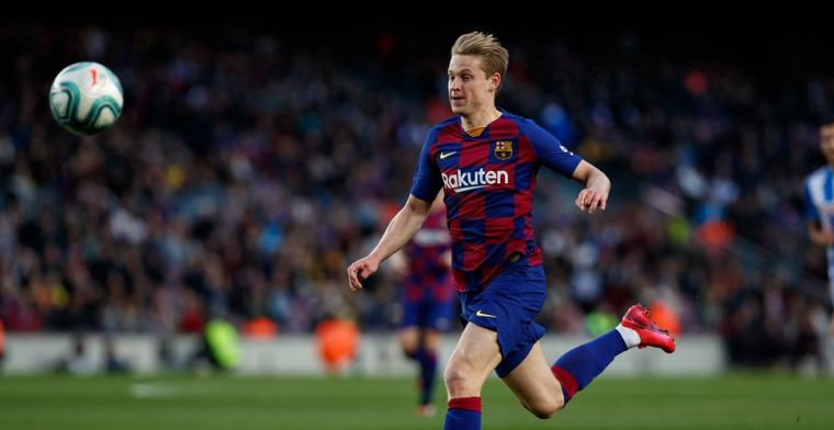 De Jong schikt zich in Barça-rol: 'Geen fancy speler, maar echt buitencategorie'