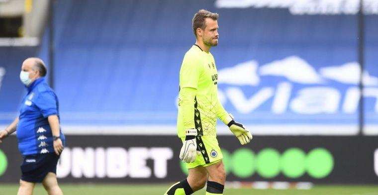 Mignolet panikeert niet na nederlaag Club Brugge: We waren lang dominant