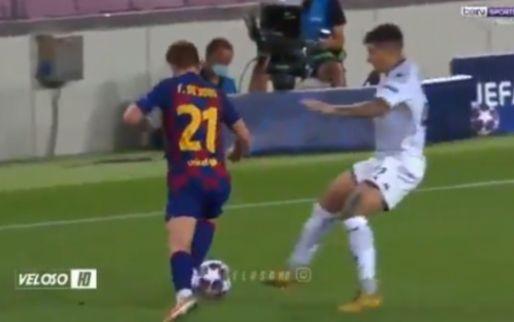 Frenkie de Jong dicteert in Camp Nou: 45 seconden met hoogtepunten