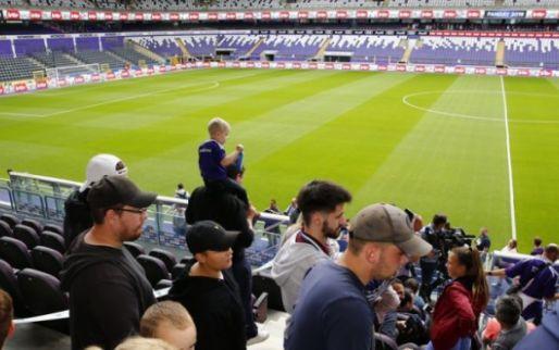 Anderlecht laat zijn ongenoegen blijken: