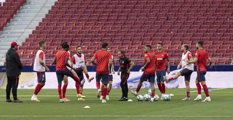 Update: Atlético mag namen openbaar maken, Correa en Vrsaljko in quarantaine