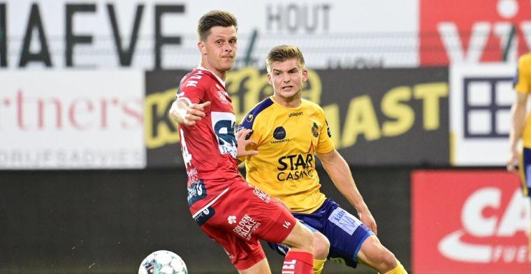 Waasland-Beveren staat aan de leiding na winst tegen KV Kortrijk
