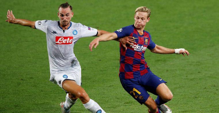 De Jong bewierookt: 'Als hij op zijn best is, is Barcelona een totaal ander team'