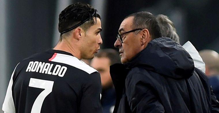 Sarri door de mangel in Italiaanse pers: misplaatste grap, ergernis bij Ronaldo