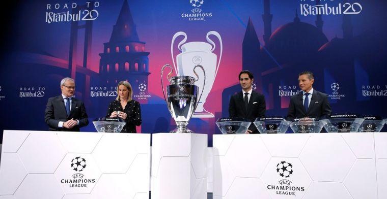 LIVE: loting tweede voorronde Champions League met AZ (gesloten)