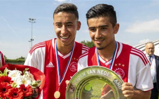 'Ajax-talent scheurt enkelbanden en breekt kuitbeen: mogelijk kruis over 2020'