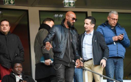 'Anelka trekt shirt Anderlecht aan, zoon van voormalig profvoetballer traint mee'