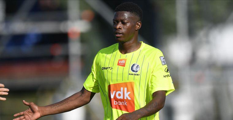 'KAA Gent krijgt ook nog slecht nieuws over zomeraanwinst Nurio'