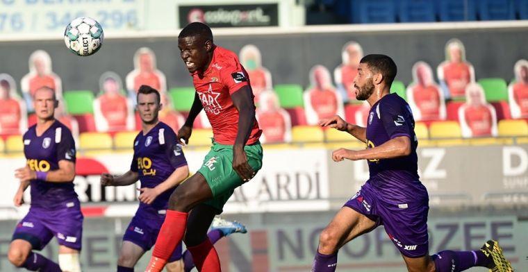 Noubissi schiet Beerschot met twee doelpunten voorbij KV Oostende